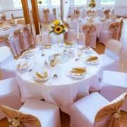 Hochzeitsdekoration in Gold Farbe https://anastasia-dekoration.de/