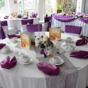 Hochzeitsdekoration Tischdeko