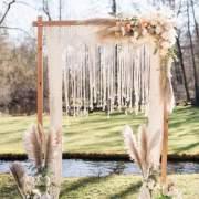 Design-Hochzeiten Boho